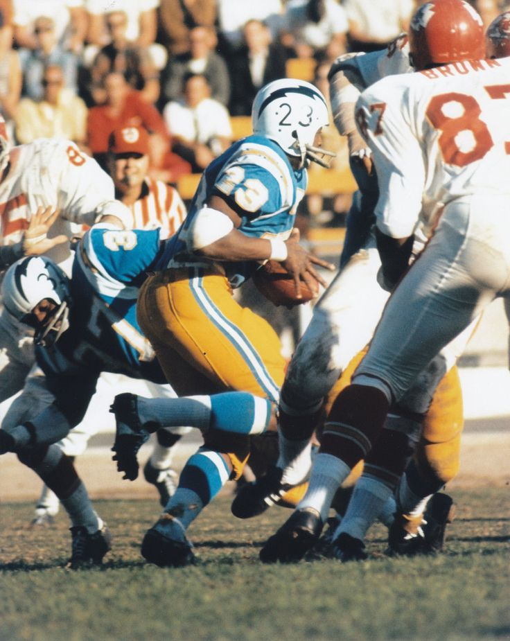 Paul Lowe Los Angeles Chargers 1960, San Diego Chargers