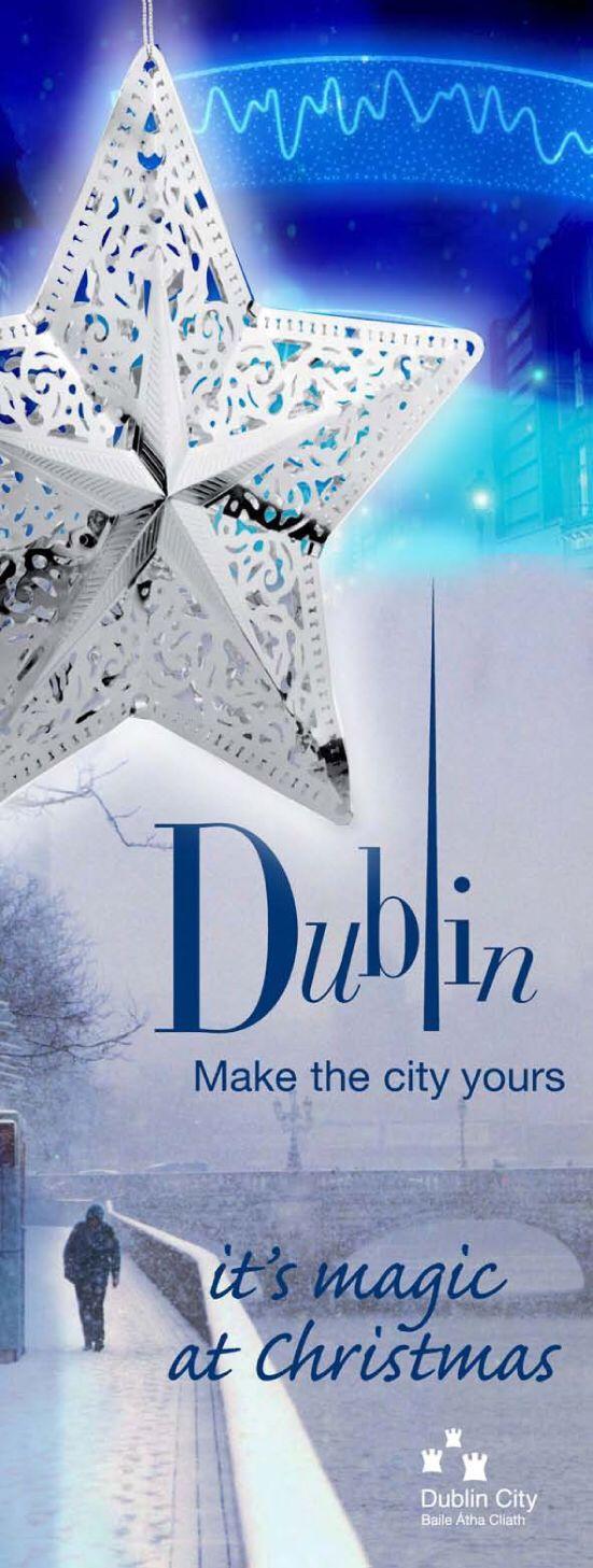 Dublin City Council Christmas Banners.