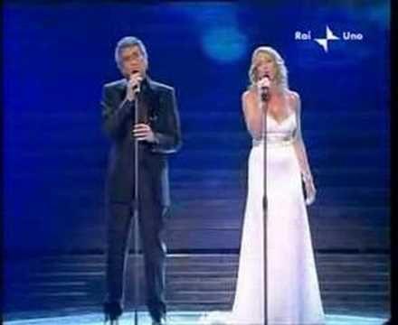 Toto Cutugno e Annalisa Minetti - SanRemo 2008