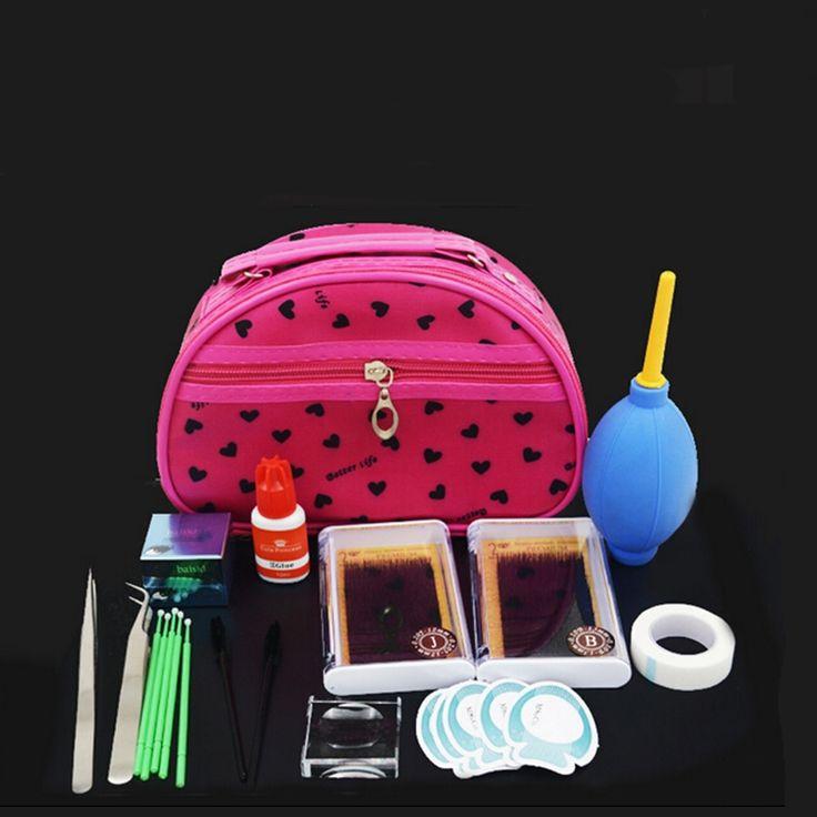 39.75$  Buy here - http://aliq11.shopchina.info/go.php?t=32811050054 - Eyelashes Extension Kit Set with Glue Fashionable Eyelashes Extension with bag free shipping 39.75$ #buyininternet