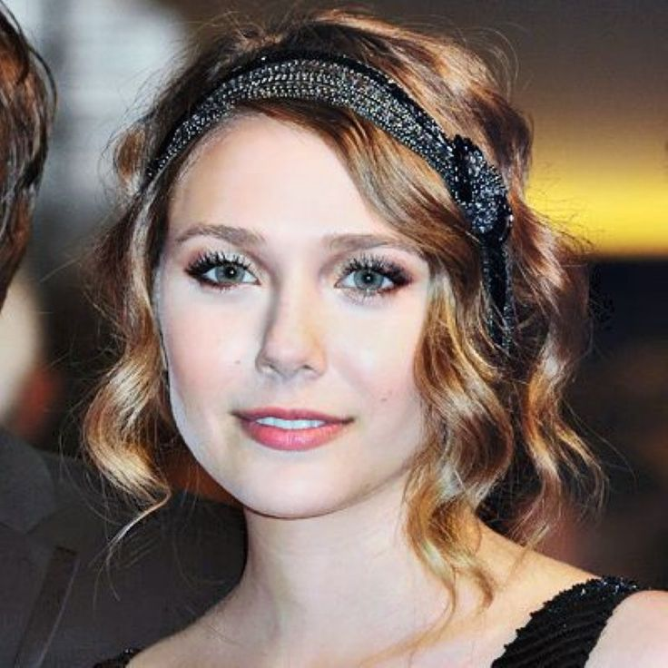 Top 20 Wedding Hairstyles For Medium Hair: 1920s Hairstyles For Long Hair With Headband