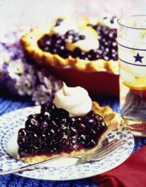 Double Blueberry Pie #little changes: Double Blueberries, Double Blueberry, Highbush Blueberries, Blueberries Pies Recipe, Blueberries Council, Blueberries Pies Filled, Easy Double, Blueberries Recipe, Blueberry Pies