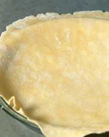 """Basic Pie Dough...Make your own pie dough and pass on the store-bought stuff with this foolproof recipe. The milk adds a little more fat and makes rolling out the dough much simpler.  From the book """"Mad Hungry,"""" by Lucinda Scala Quinn (Artisan Books)."""