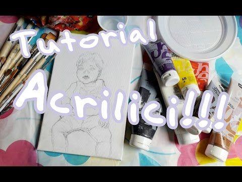 CORSO DI PITTURA ad ACRILICO,Lez.1: La tecnica facilitata dello One Stroke Painting (Arte per Te) - YouTube