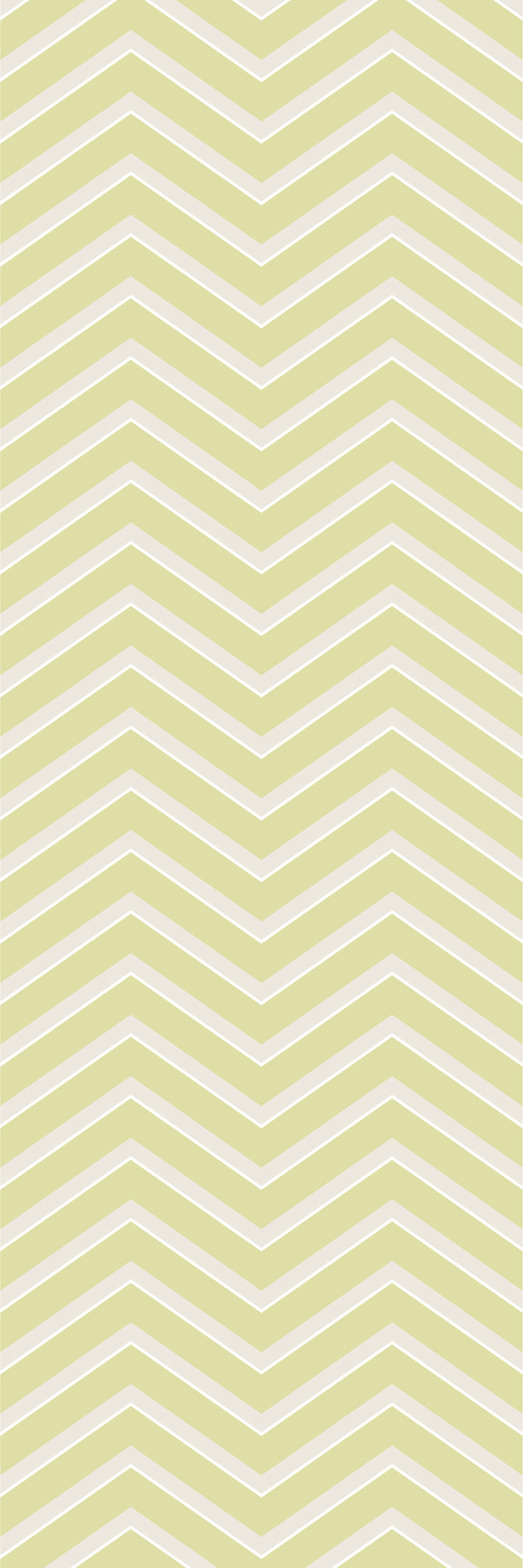 Custom printed Chevron wallpaper from the 'STARLING' colour range #chevron #wallpaper #muurgraphics