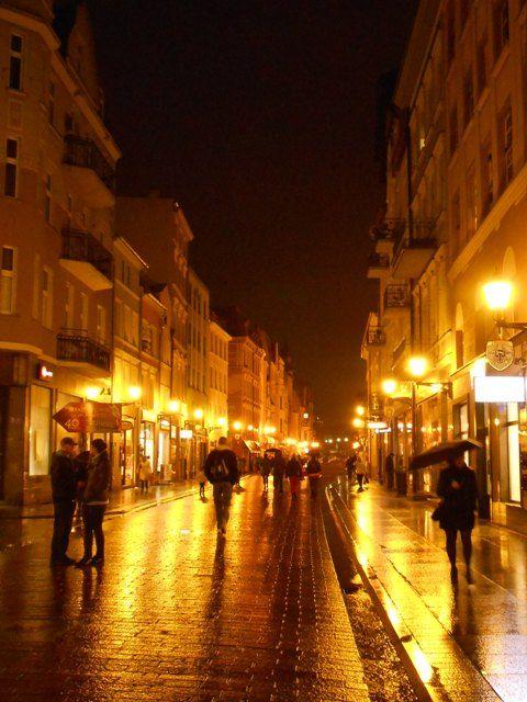 Toruń w nocy