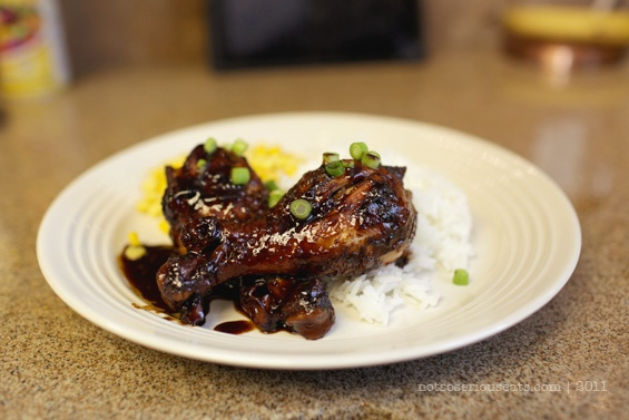asian glazed drumsticks ** [not so] serious eats**