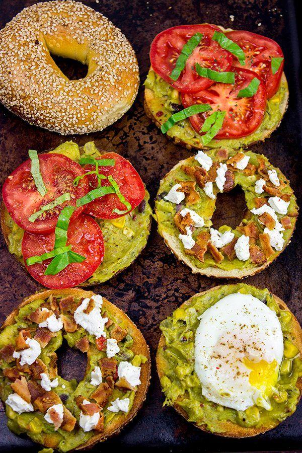 {Guacamole Toast: 3 Ways} #VeggieFusionsguac #veggieupyourguac #ad @Sabra