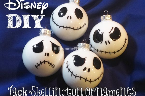 I LOVE Jack Skellington! If you are reading this page you must love him too! Here's a super easy tutorial on how to make Jack Skellington/Nightmare Before Christmas ornaments, perfect for both Christmas and Halloween! You will need: White round ornaments – Any will do as long as they are smooth glass or plastic. Black …