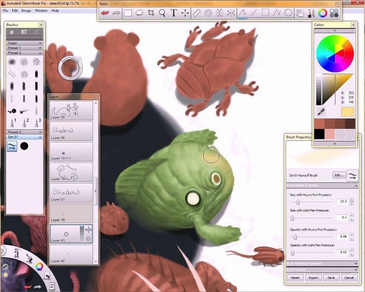 Autodesk Sketchbook Copic Edition Pro 3000 Realitylivin