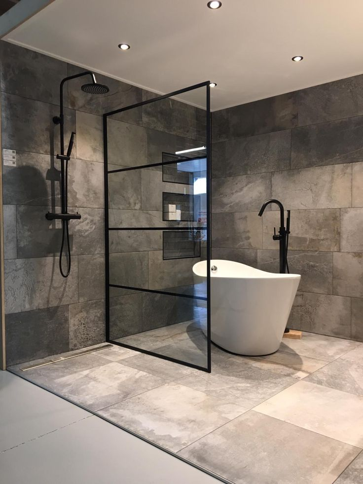 modern concrete bathroom design – #bathroom #concr…