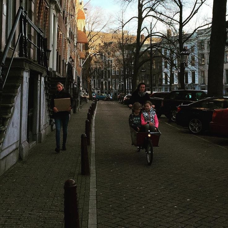 I enjoy every moment as I enjoy every picture. — Amsterdam's family car   #bike #bikes #bicycle...