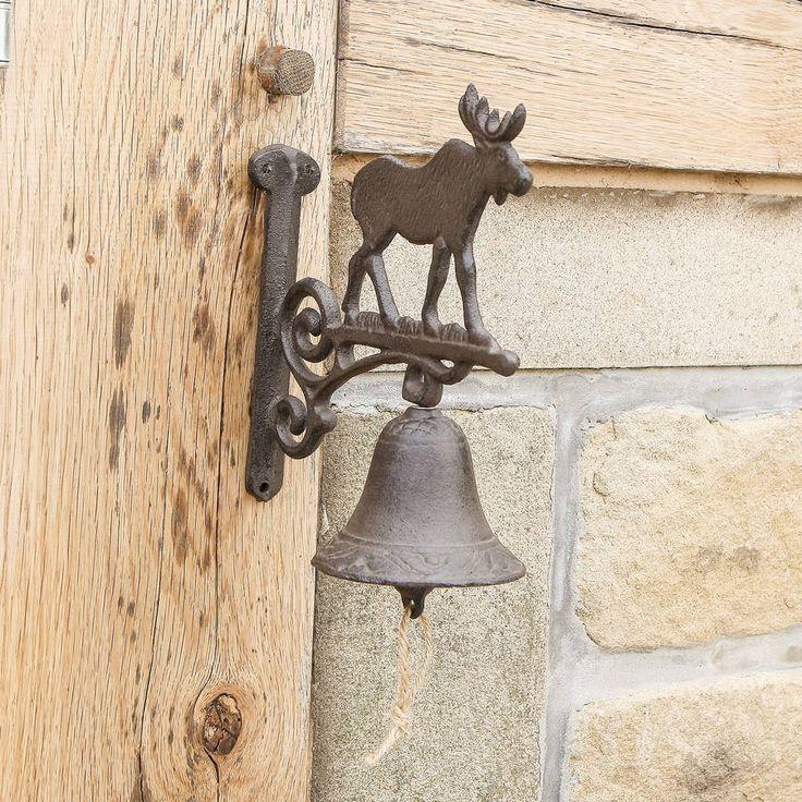 Stag Cast Iron Door Bell