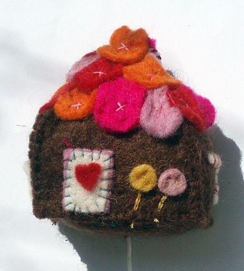 Koekhuisje muziekdoosje / fairy gingerbread musicbox