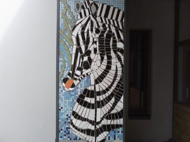 zebre réalisé par un enfant