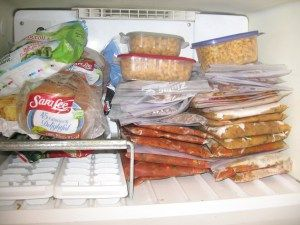 Once a month cooking. Vegan freezer meals for a whole month.