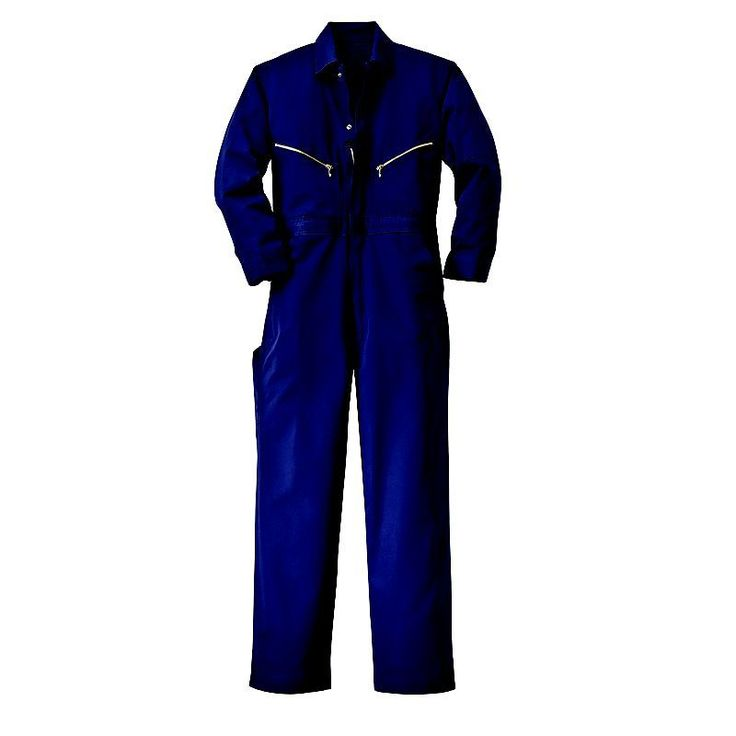 Men's Walls Coverall, Size: 48 Long, Dark Blue