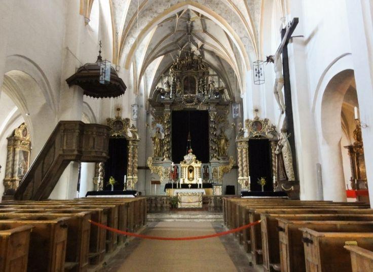 Interior of Frauenwörth Abbey church