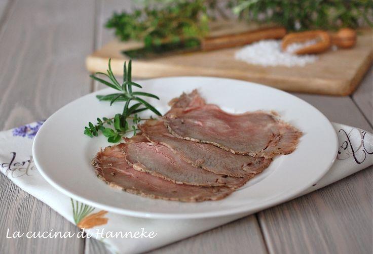 Roast beef al sale agli aromi freschi