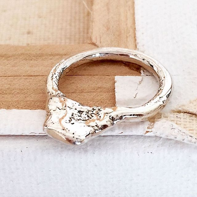 Antiquated Elegance Ring. Sterling silver.