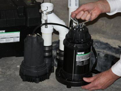 wayne battery backup best sump pump