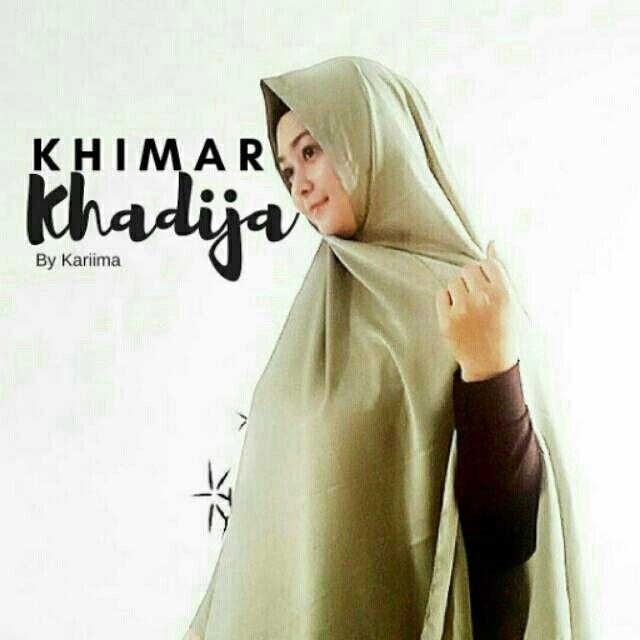 Saya menjual Khimar Khadija Olive seharga Rp179.900. Dapatkan produk ini hanya di Shopee! https://shopee.co.id/kariimaindonesia/205348848/ #ShopeeID