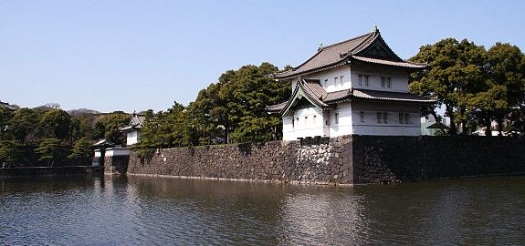 The Tokyo Imperial Palace is the residence of Japan's Imperial Family.  It's a large park area surrounded by moats and stone walls and is located in the center of Tokyo.