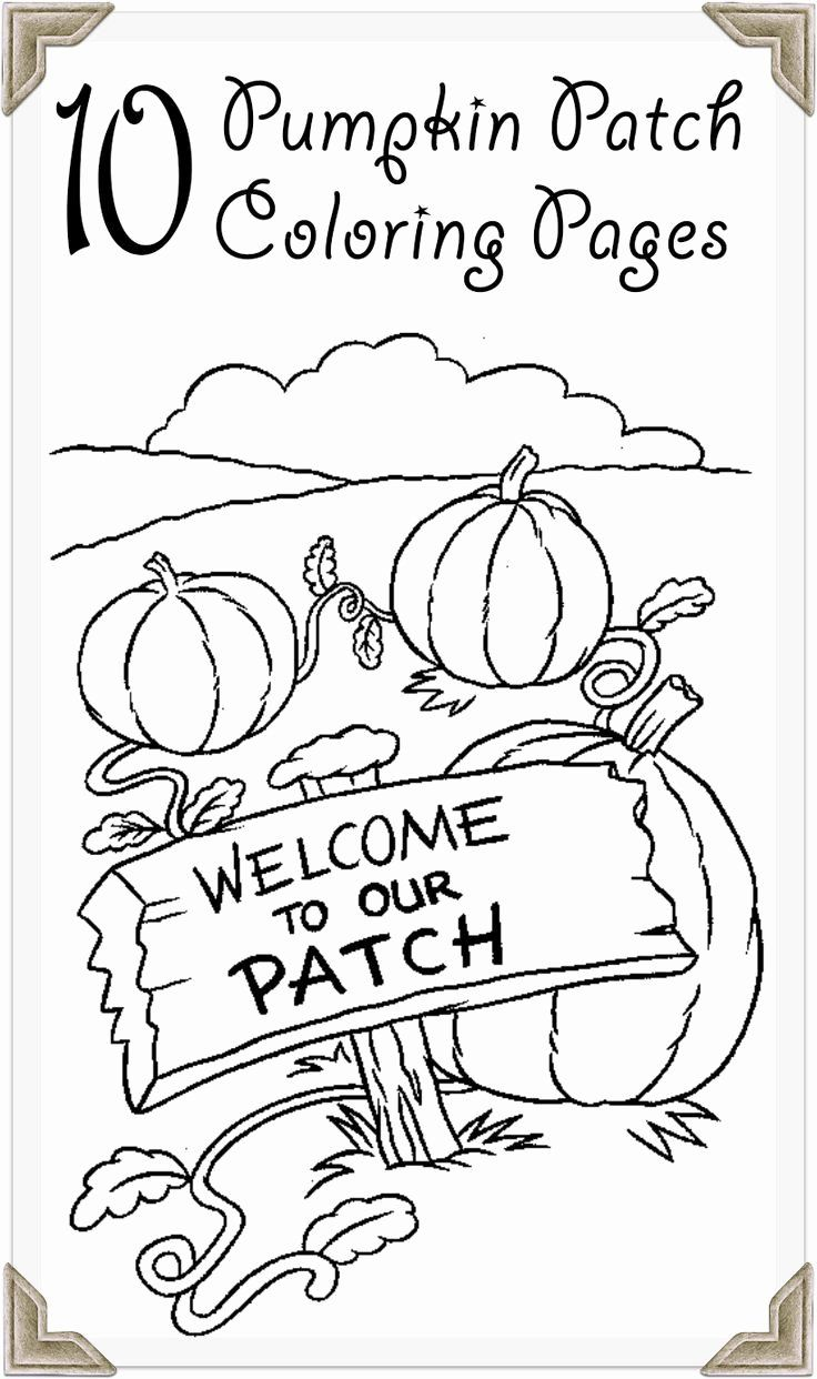 Pumpkin Patch Coloring Page Printable Halloween Coloring Pages Farm Coloring Pages Pumpkin Coloring Sheet