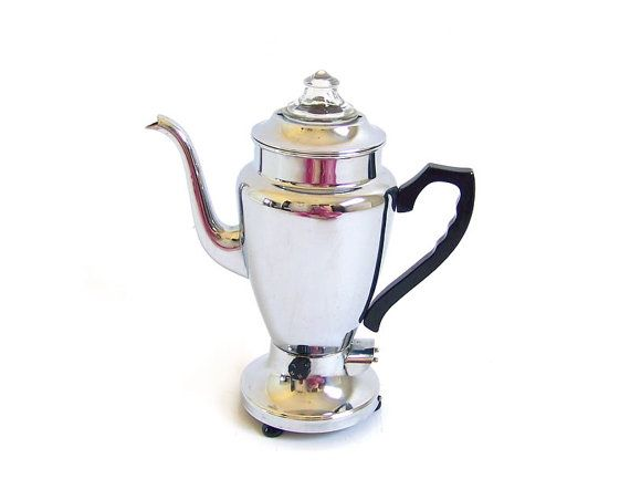 Coffee Maker Heating Element Test : 29 best images about Silver Electric Kettles on Pinterest Vintage coffee, Tea kettles and ...
