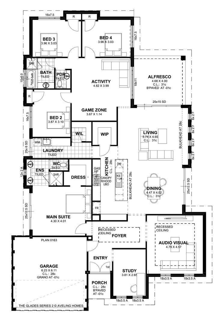 125 best our designs images on pinterest floor plans crossword glades s2 floorplan the gladeshouse blueprintshome malvernweather Image collections