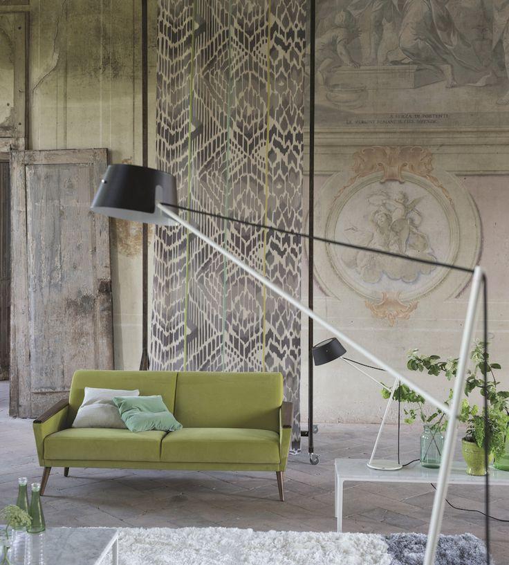 Rustic Living | Bandala Lino Fabric by Designers Guild | Jane Clayton
