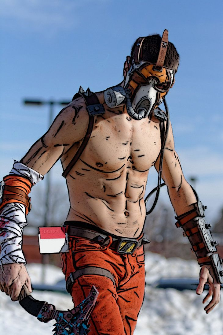 Character: Krieg the Psycho / From: 2K Games & Gearbox Software's 'Borderlands' Video Game Series / Cosplayer: Henchmen Props Cosplay