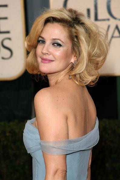 Drew Barrymore rocking some big ole' Texas hair!: Carpet Hairstyles, Drew Barrymore Hairstyles, Golden Globes, Hairstyles 2014, Big Hair, Hair Style, Short Hairstylesfor, Hairstylesfor Women