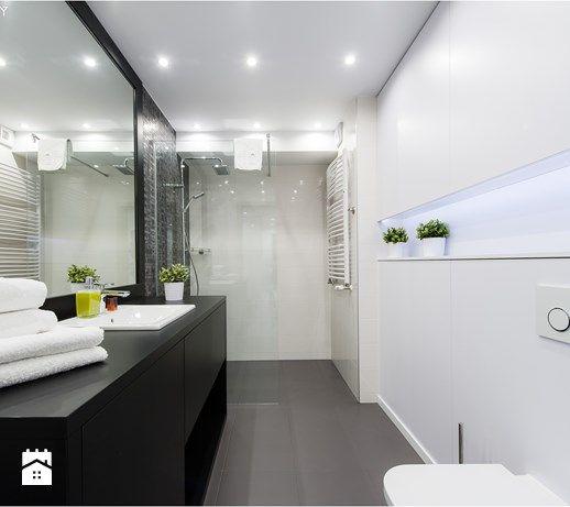 EVOLUXURY - LA ROCHE - Duża łazienka bez okna, styl skandynawski - zdjęcie od…