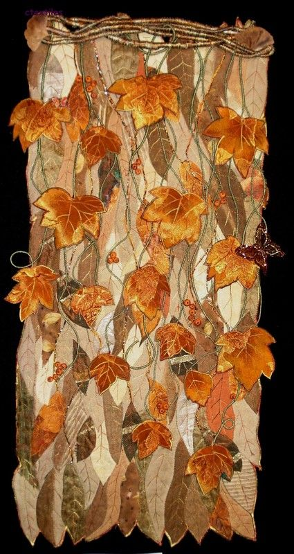 Autumn Equinox:  Craft a quilt or wall hanging for the #Autumn #Equinox.
