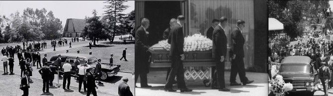 Marilyn Monroe Joe DiMaggio Funeral | Goodbye Norma Jeane -