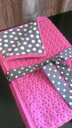 Cute hand made cover crochet