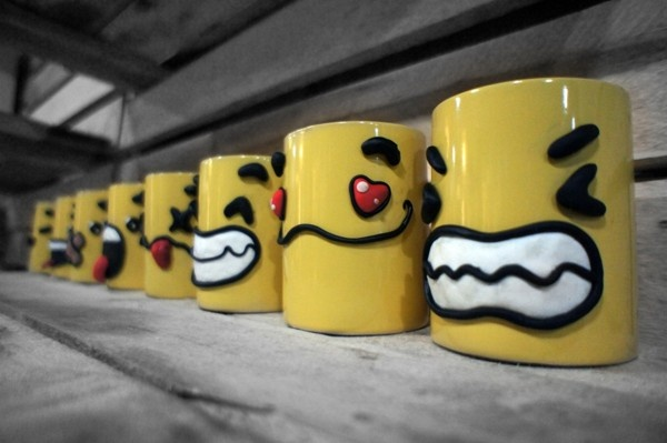 Happy Yellow Mugs :) on Behance