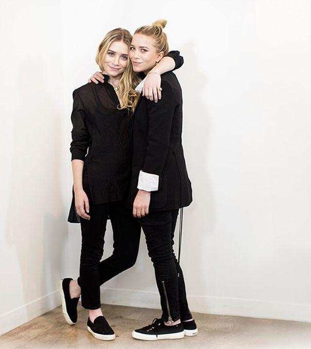 Mary-Kate en Ashley Olsen for StyleMint