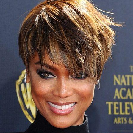 Tyra Banks Short Hair Style Google Search Short Hair Style Pinterest Short Hair Styles Hairstyle Near Me