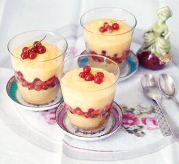Rezept von Gabriele Gugetzer: Trifle mit Seed Cake