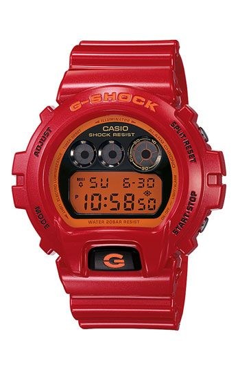 G-Shock 'Mirror Metallic' Digital Watch, 53mm available at #Nordstrom