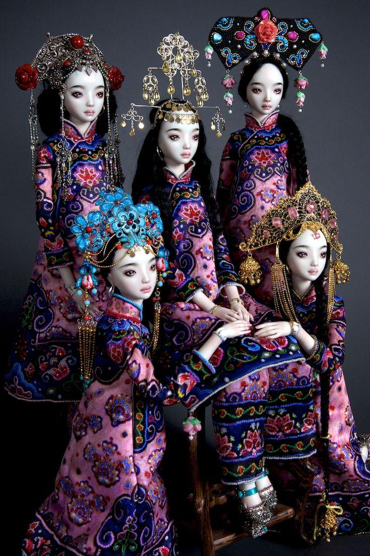 Gypsy House Designs: Enchanted Doll ~ Marina Bychkova