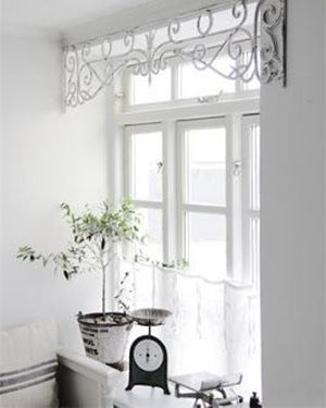 Trouvailles pinterest habillage fen tres window and for Habillage fenetre baie window