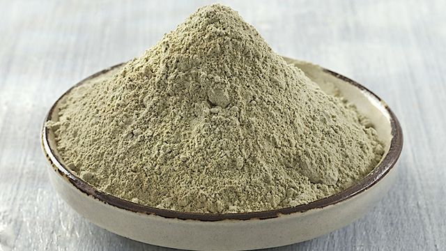 argilla da mangiare per la depurazione