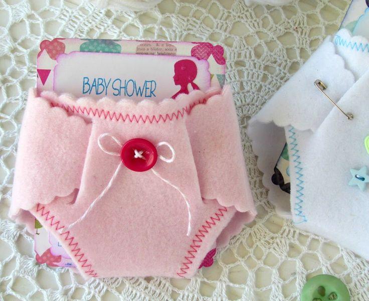 Baby Shower Diaper Invitations... - Ribbons & Glue