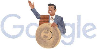 Doodleando, Los Logos de Google: José Alfredo Jiménez homenajeado por Google en el ...