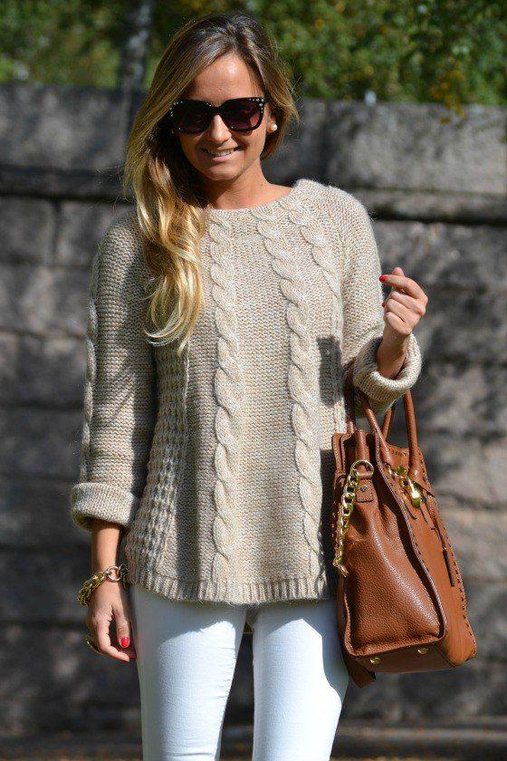 Очаровательный пуловер с косами. Обсуждение на LiveInternet - Российский Сервис Онлайн-Дневников