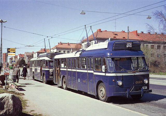 vintage everyday: Colour Photos of Helsinki in The 1950's-60's