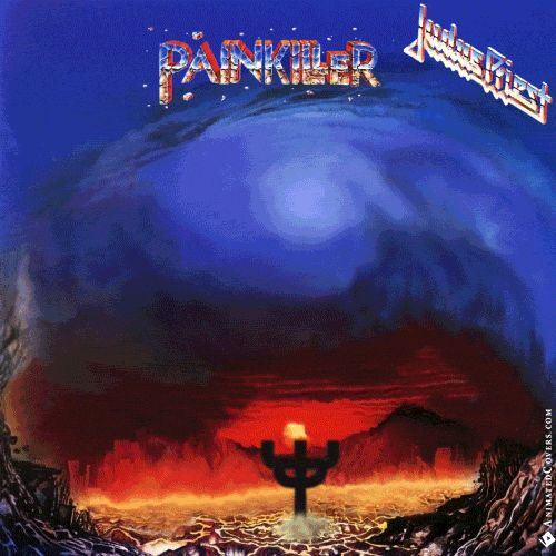 Judas Priest - Painkiller animated cover artwork by www.animatedcovers.com